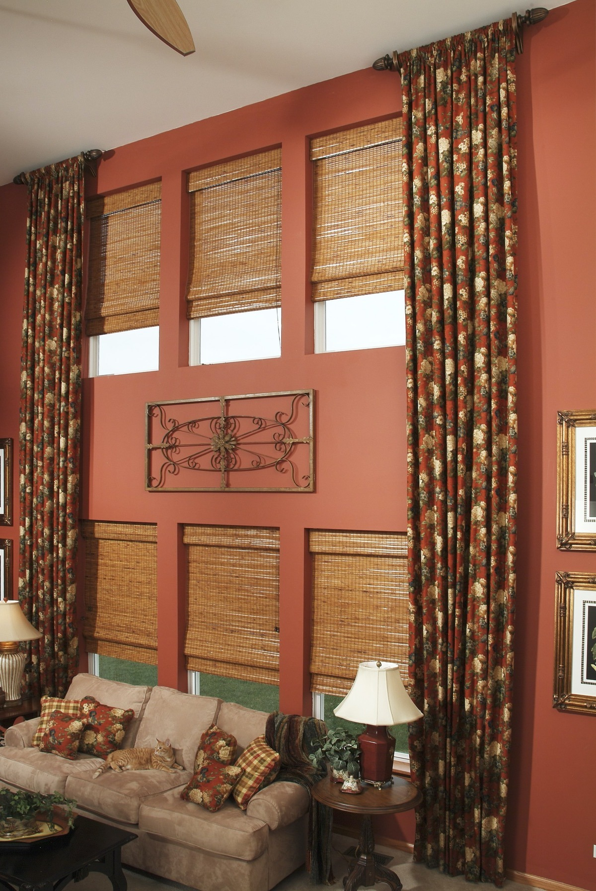WW HNS Horizons Natural Shades HST Drapery Side Panels